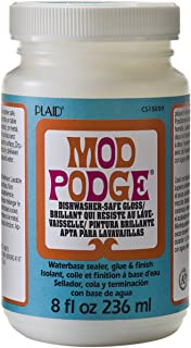 Mod Podge Dishwasher Safe Waterbased Sealer, Glue and...