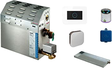Mr Steam MS-Super1-EC1 10 KW Steam Bath Generator with I Butler Package in White - Free Aromatherapy Sampler Included