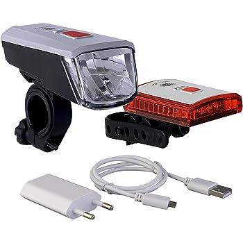 Büchel LED Akkufrontleuchte Vancouver Pro StVZO zugelassen 70 Lux automatische