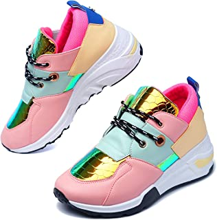 Bigbang Sneakers for Women, Wedge Fashion Sneaker Shoes...