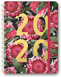 Orange Circle Studio 2020 Deluxe Compact Flexi Planner, Floral Expressions
