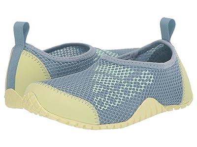 adidas Outdoor Kids Kurobe (Toddler/Little Kid/Big Kid) (Ash Grey/Dash Green/Yellow Tint) Girls Shoes