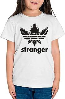 Camiseta de NIÑAS Stranger Things Once Series Retro 80 Eleven Will 018
