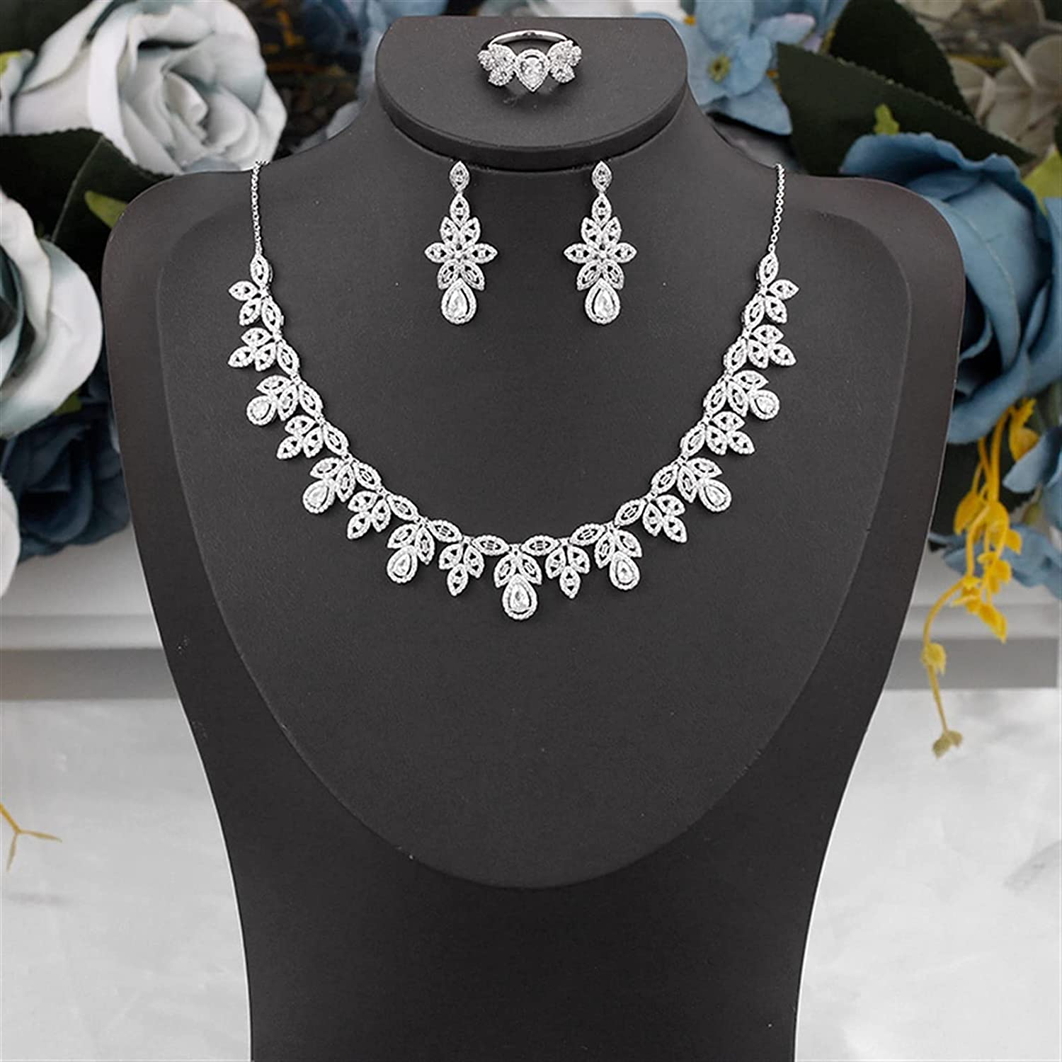 SYXMSM Jewellery Set WomenJewelry Wedding Cubic for Tampa Don't miss the campaign Mall Zirconia