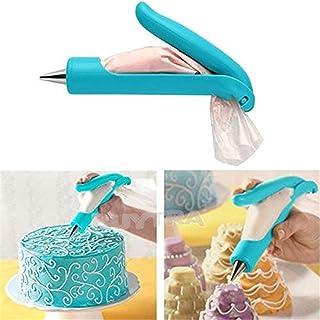 Myoffice デコペン DIY製菓道具 アイシング チョコレート クリーム絞り出し器 セット 糖衣装飾ペン ペストリーのヒント カップケーキクッキー