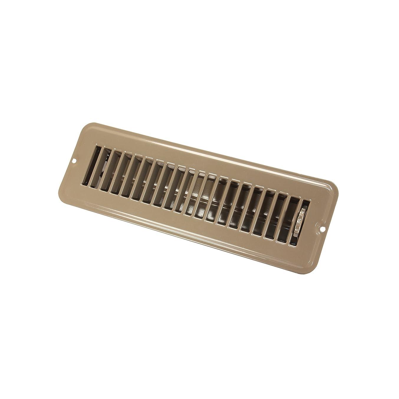JR Products 02-28915 Dampered Floor Register - 2