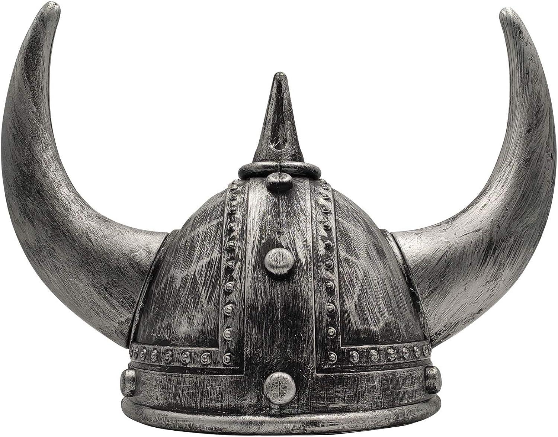LOOYAR Middle Over item handling Ages outlet Medieval Viking Bers Horned Age Helmet