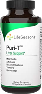 LifeSeasons - Puri-T - Liver Support and Cleanse Supplement - Support Stamina - Supports Liver Tissue and Aids in Healthy ...