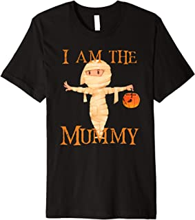 I Am The Mummy Halloween Mom Premium T-Shirt