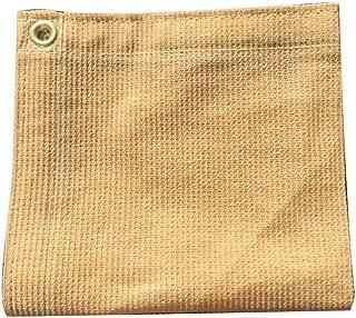 XTARPS - 6 ft. x 8 ft. - 7 OZ Premium 90% Shade Cloth, Shade Sail, Sun Shade (TAN Color)