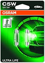OSRAM bombilla matrícula lámpara ultra Life 6418ult-02b c5w 12 sv8 5-8 atrás
