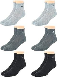 Men's Socks - Cushioned Above Ankle Athletic Mini-Crew Socks (6 Pack)