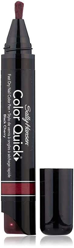 層十一ものSALLY HANSEN COLOR QUICK FAST DRY NAIL COLOR PEN #13 BLACK CHERRY