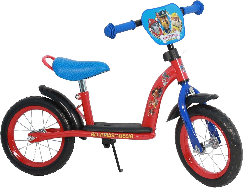 Kubbinga Boy Paw Patrol Eva Luxe Metal Bike, Red bluee, 12Inch
