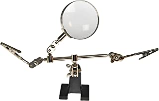HOME-X Magnifying Glass with Knobs for Stamp/Coin Collections, Collectors Magnifier