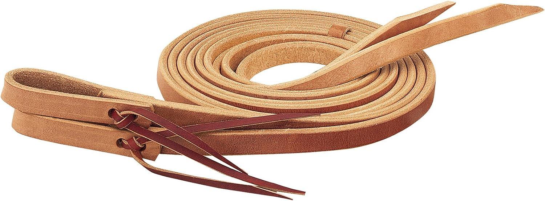 "Details about  /1/"" X 8/' Weaver Leather Single Ply Heavy Harness Split Reins U-1540"