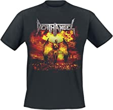 Death Angel T Shirt Sonic Beatdown Band Logo Official Mens Black