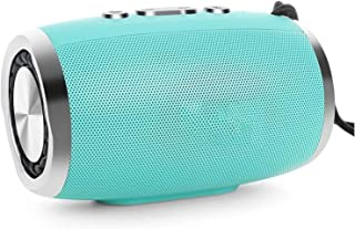 CMDZSW Portable Wireless Bluetooth Speaker Stereo Sound Column Subwoofer Speaker Support FM Radio TF AUX USB Phone (Color ...