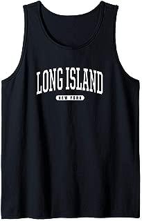 College Style Long Island New York Souvenir Gift Tank Top