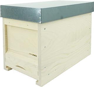 APIFORMERS Zander Ablegerkasten - aus Weymouthskiefer - Nachhaltig - Imkereibedarf - 5 Waben - Massivholz - Naturprodukte - Bienenhaus