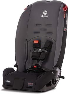 Diono Radian 3R, 3-in-1 Convertible Rear & Forward Facing Convertible Car Seat, High-Back Booster, 10 Years 1 Car Seat, Sl...