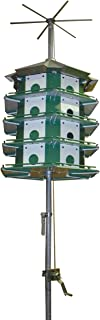 Trio Purple Martin Castle Safety System with Pole, 24 Room