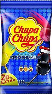 Chupa Chups Zungenmaler Lutscher Nachfüllbeutel, 1er Pack (120 x 12 g)
