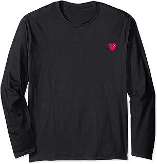Official - Heart Pocket Long Sleeve T-Shirt