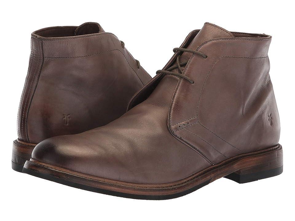 Frye Murray Chukka (Grey Washed Dip-Dye Leather) Men