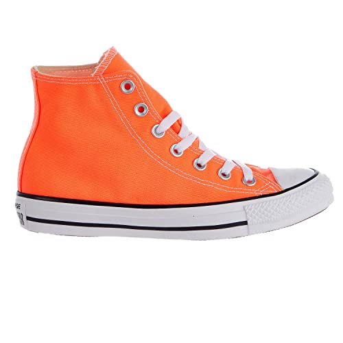 3978f04badf2 Converse Unisex Sneakers Chuck Taylor All Star Hi Top Hyper Orange Canvas  155739F