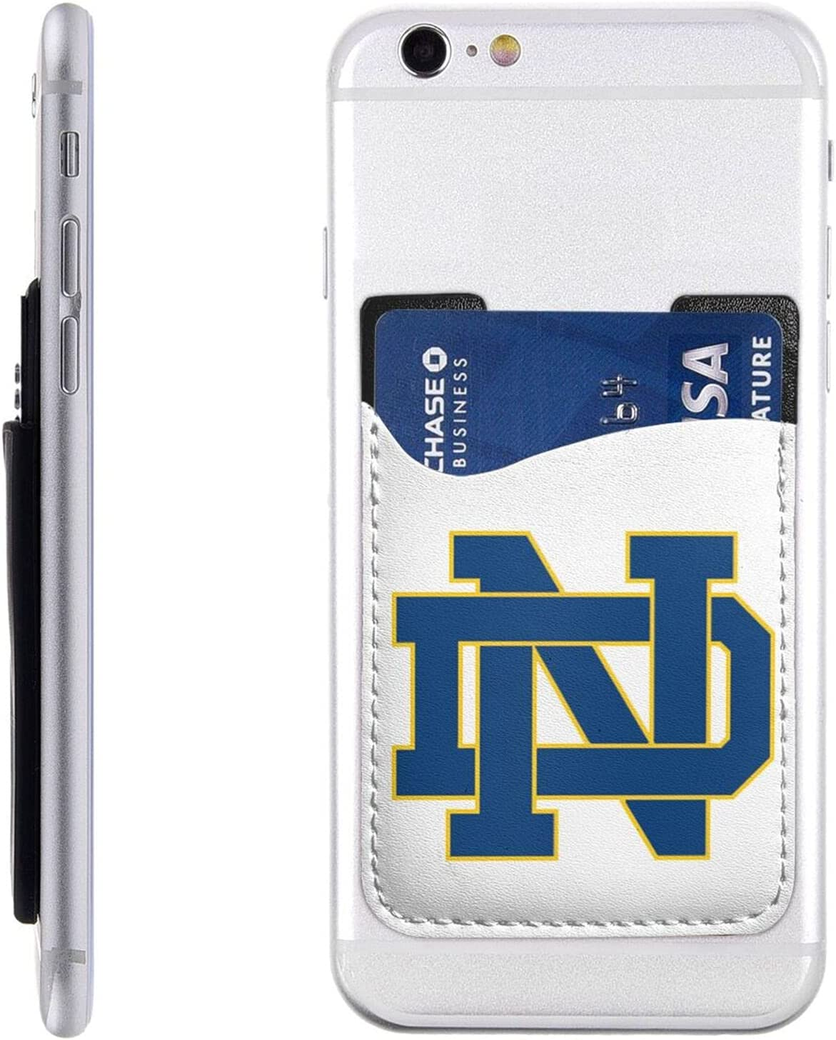 Ultra-Cheap Deals Notre Dame Fighting Irish Cell Phone Holder Id Stick-On Card Max 51% OFF Cre