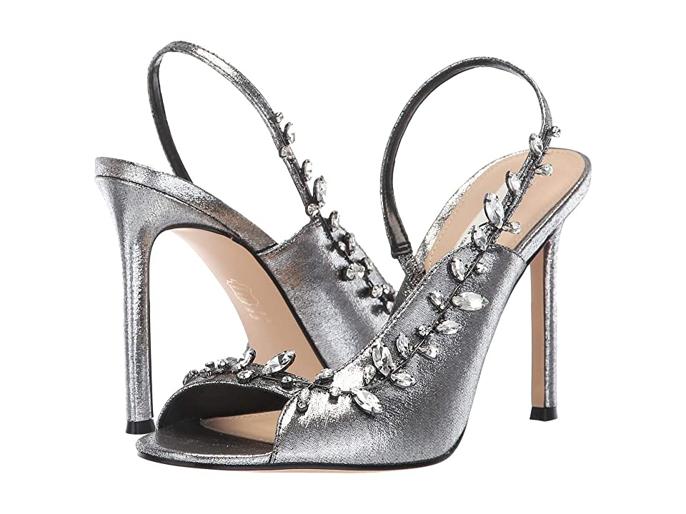 Nina Deanne (Gunmetal 2 Metallic Fabric) High Heels