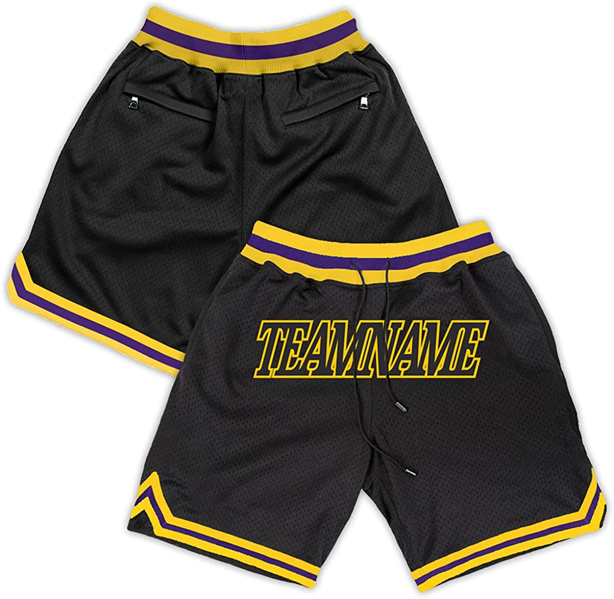 Men's Basketball Shorts W Pockets Custom Name Spor Stitched New product Discount is also underway type