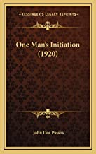 One Man's Initiation (1920)