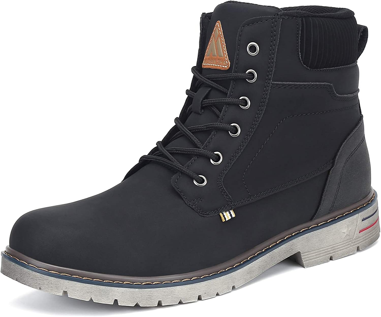 Mishansha Mens Womens Hiking Boots Anti-Slip Water Resistant Athletic Trekking Ankle Shoes