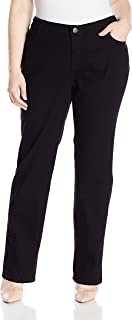 Women's Plus Size Comfort Collection Straight Leg Jean