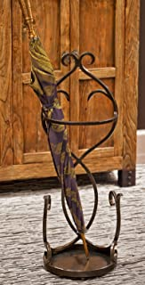 KensingtonRow Home Collection Umbrella Racks - Charleston Manor Bronze Scroll Umbrella Stand - Umbrella Holder - Umbrella Rack