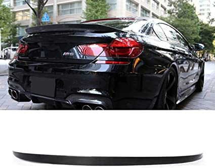 PSM Style Carbon Fiber Trunk Spoiler Wing For 2012-2018 BMW F13 6-Series Coupe Only