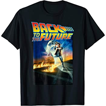 Back To The Future Poster Big Print Sublimation Licensed Adult T-Shirt