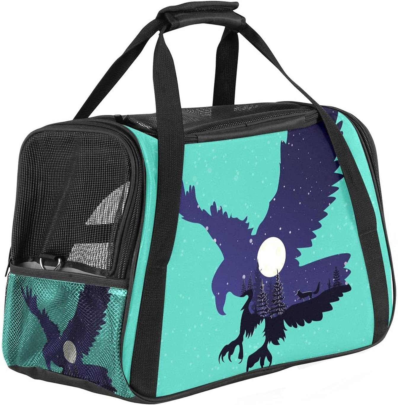 Premium Soft-Sided Pet Travel Cheap sale Carrier Ideal for Nashville-Davidson Mall Small - S Medium