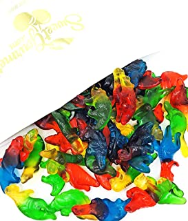 Haribo Gummi Dinosaurs Candy | Bulk Dino Gummy | Strawberry, Mango, Banana, Melon, and Blackcurrant | 3 pound