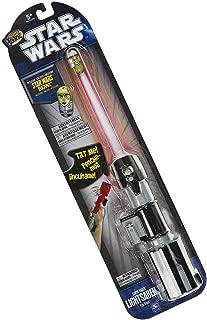 Star Wars Exclusive Mighty Beanz & Darth Vader Light Saber Flip Track Bundle