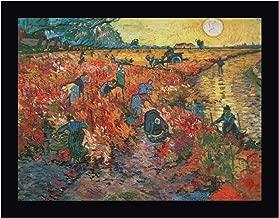 The red Vineyard at Arles by Vincent Van Gogh 13