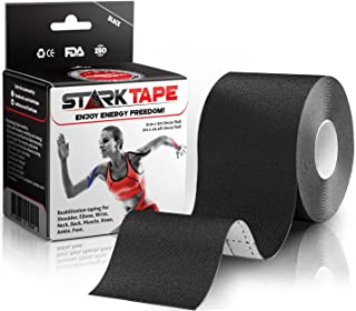Kinesiology Tape | Designed to Help Boost Athletic Performance, Prevent Joint, Muscle Pain and Ease Inflammation | Easy to...