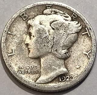 1923 S Mercury Dime Good
