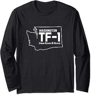 Urban Search & Rescue Washington Task Force 1 WA-TF1 Uniform Long Sleeve T-Shirt