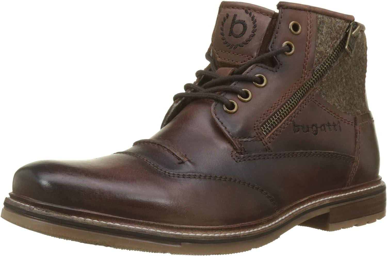 Bugatti Men Boots Brown, (Cognac) 321622341200-6300