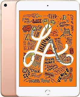 Apple iPad mini (Wi-Fi + Cellular, 64GB) - Gold (Latest Model)
