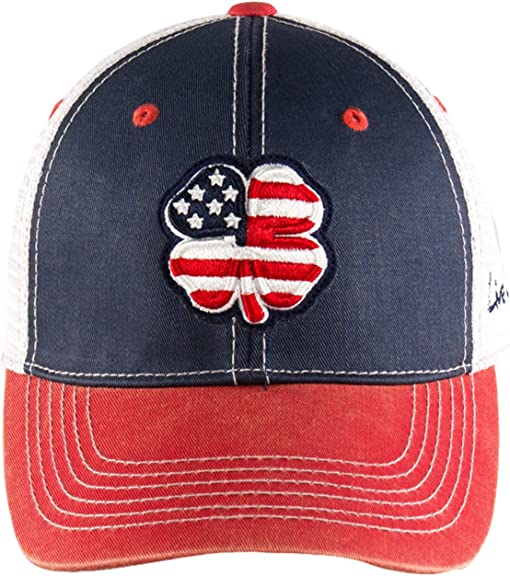 USA Clover/White Trim/Navy/Red/White