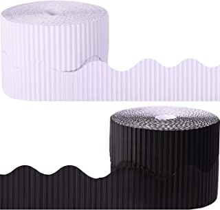 corrugated border display rolls